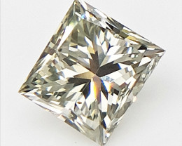 0.29 cts , Princess Cut Diamond , Rare Natural Diamond