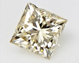 0.25 cts , Princess Cut Diamond , Rare Natural Diamond