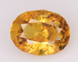 0.78 Cts Natural Zircon Exceptional Color ~ Cambodia ZR52