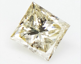 0.27 CTS , Princess Cut Diamond , Rare Natural Diamond