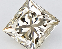 0.24 CTS , Princess Cut Diamond , Rare Natural Diamond