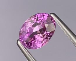 1.08 Cts Srilanka Unheated Lavender Magenta Color Natural Sapphire