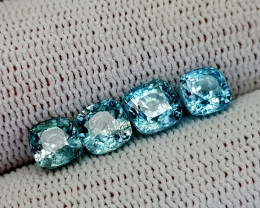 5.85CT BLUE ZIRCON BEST QUALITY GEMSTONE IIGC35