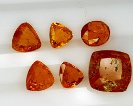 4CT RARE CLINOHUMITE PARCEL BEST QUALITY GEMSTONE IIGC35