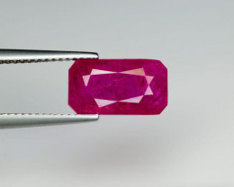 AIGS Certificate 4.67 cts  Natural Burma Ruby Unheated
