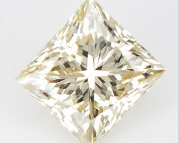 0.21 cts , Princess Cut Diamond , Rare Natural Diamond