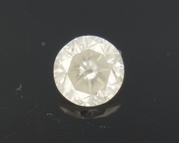 0.32 CTS , Round Brilliant Cut , Light Colored Diamond