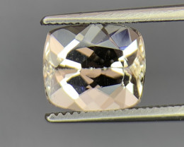 2.75 Carats Natural  Morganite Gemstone