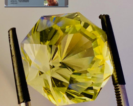 20.45CT LEMMON CITRIN - I DISCONNECT MY COLLECTION.  AFTER 36 YEARS!
