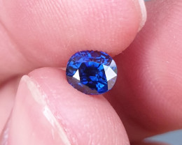 UNHEATED CERTIFIED 1.02 CTS TOP QUALITY ROYAL BLUE SAPPHIRE MADAGASCAR