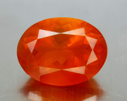 3.22CT FACETED FIRE OPAL BEST QUALITY GEMSTONE IIGC35