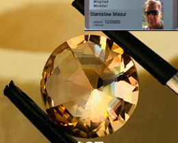 4.02 CT-TOPAZ UNTREATED- MASTER CUT- I DISCONNECT MY COLLECTION.  AFTER 36