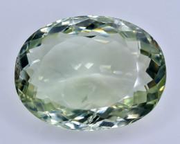 21.70 Crt Green Prasiolite Amethyst  Faceted Gemstone (Rk-63)