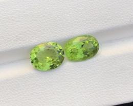 4.95 Carats Beautiful Natural Color Peridot Cut Stone