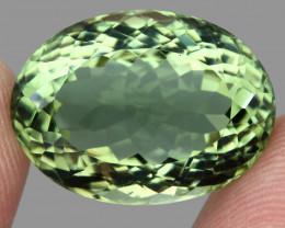 VVS 22.26 ct 100% Natural Top Rich Green  Prasiolite Brazil