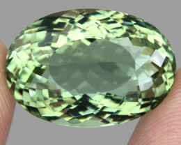 26.58 ct. 100% Natural Earth Mined Top Quality Rich Green Amethyst Brazil
