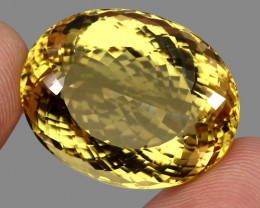 67.44 ct.  Natural Earth Mined Top Quality Rich Yellow Citrine Brazil