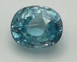 Zircon, 3.76ct, very nice colour, a stone that you'll be happy with!!