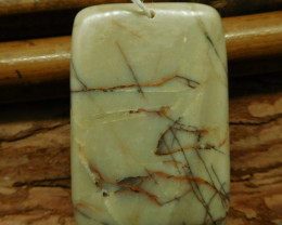 Creek jasper pendant (G2620)