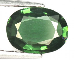 Tourmaline 0.91 Cts Natural Fancy Green Loose Gemstone