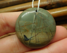 Creek jasper pendant (G2623)