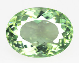 Green Amethyst 11.31 Cts Natural Loose Gemstone