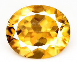 Mystic Quartz 4.17 Cts Rare Fancy Orange Color Natural