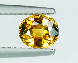 .93CT BRIGHT GOLDEN YELLOW INTENSE COLOR NATURAL SAPPHIRE $1NR!