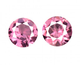Tourmaline 0.23 Cts 2 Pcs Natural Pink Loose Gemstone