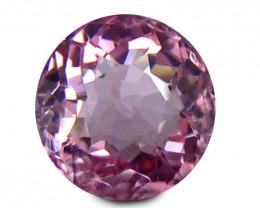 Pink Tourmaline 1.26 Cts Round shape BGC879