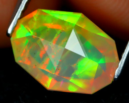 Welo Opal 1.89Ct Master Cut Natural Ethiopian Play Color Welo Opal A2002