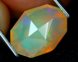 Welo Opal 2.06Ct Master Cut Natural Ethiopian Play Color Welo Opal A2003