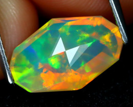 Welo Opal 1.82Ct Master Cut Natural Ethiopian Play Color Welo Opal A2005