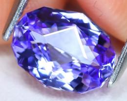 Tanzanite 1.52Ct VVS Master Cut Natural Purplish Blue Tanzanite A2006
