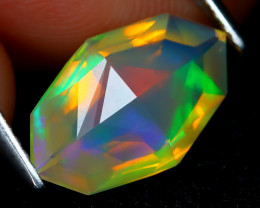Welo Opal 1.87Ct Master Cut Natural Ethiopian Play Color Welo Opal A2007