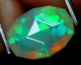Welo Opal 1.73Ct Master Cut Natural Ethiopian Play Color Welo Opal A2013