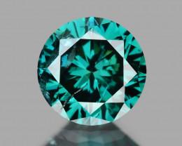 0.20 Cts Sparkling Rare Fancy  Blue Color Natural Loose Diamond