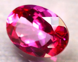 Pink Topaz 8.60Ct Natural IF Pink Topaz D2312/A35