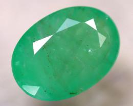 Emerald 3.36Ct Natural Zambia Green Emerald D2315/A38