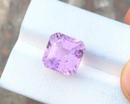 9.50 Ct Natural Pink Transparent Kunzite Gemstone
