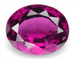 5.37  Cts Natural Cherry Pink  Rhodolite Garnet Gemstone