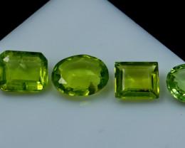 NR!! 4.35 CTs Natural & Unheated~ Green Peridot Gemstone Lot