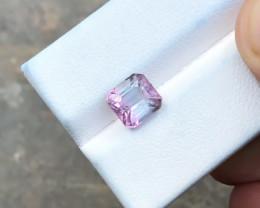 2.45 Ct Natural Bi Color Transparent Tourmaline Ring Size Gemstone