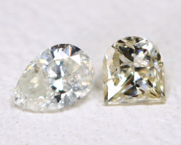 Diamond 0.18Ct 2Pcs Natural Untreated Genuine Fancy Color Diamond B904