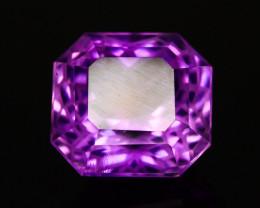 Flower Cut 9.15 Ct Natural Purple Amethyst ~ GAM