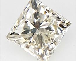 0.22 cts , Princess Cut Diamond , Rare Natural Diamond