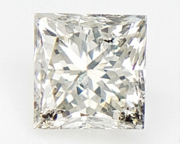 0.20 cts , Princess Cut Diamond , Rare Natural Diamond