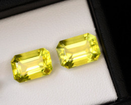 Precision Emerald Cut 8.75 Ct Natural Lemon Citrine ~ Africa~GAM