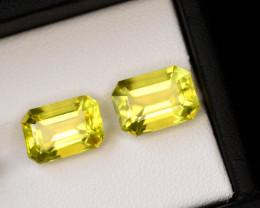 Precision Emerald Cut 8.75 Ct Natural Lemon Citrine ~ Africa~GAM