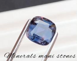 Color Change Sapphire 4.84 Carat ~Certified